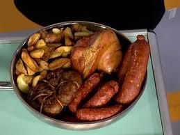 съесть совсем не большую порцию жареной еды